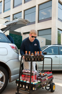 Yikes Beverages Delivering Beverages for the Clients Break Rooms